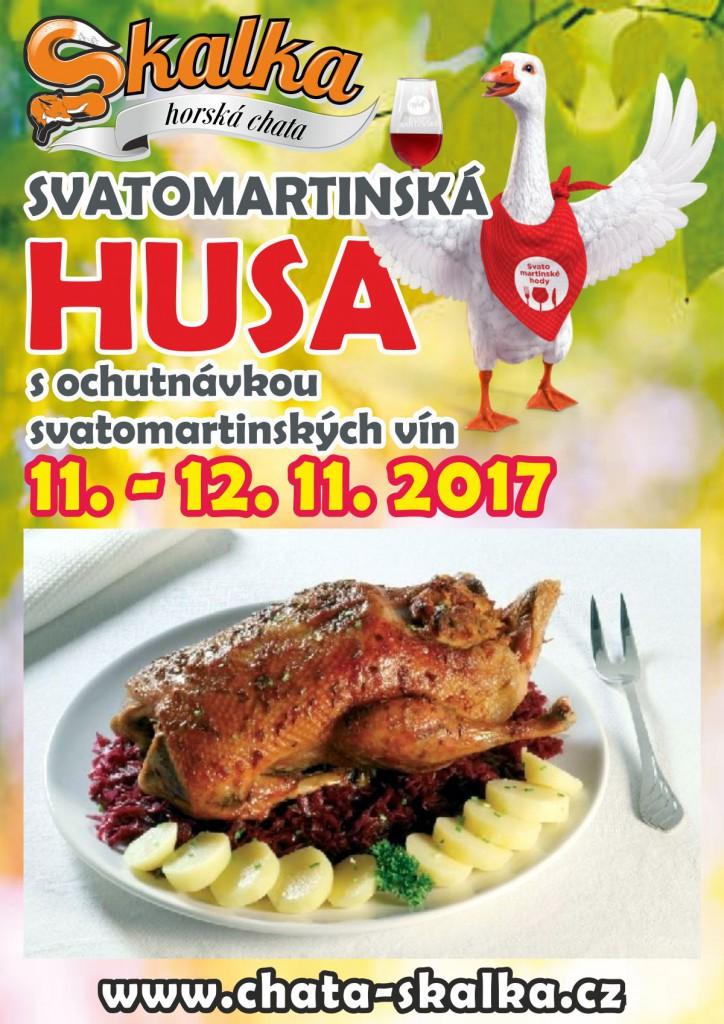 svatomartinská husa 2017