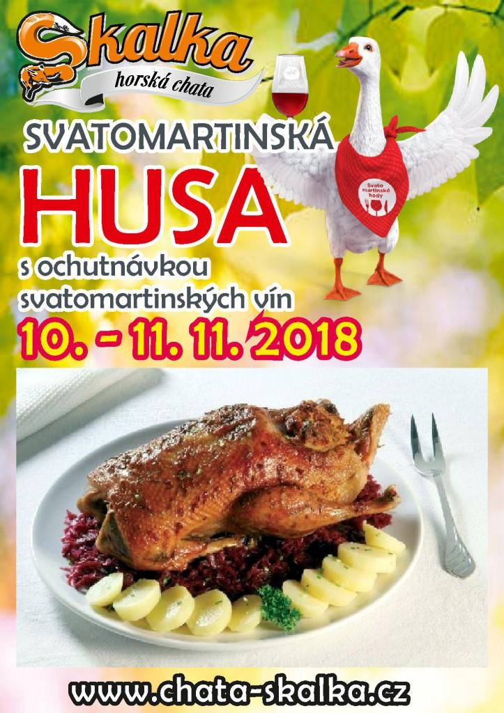 svatomartinská husa 2018